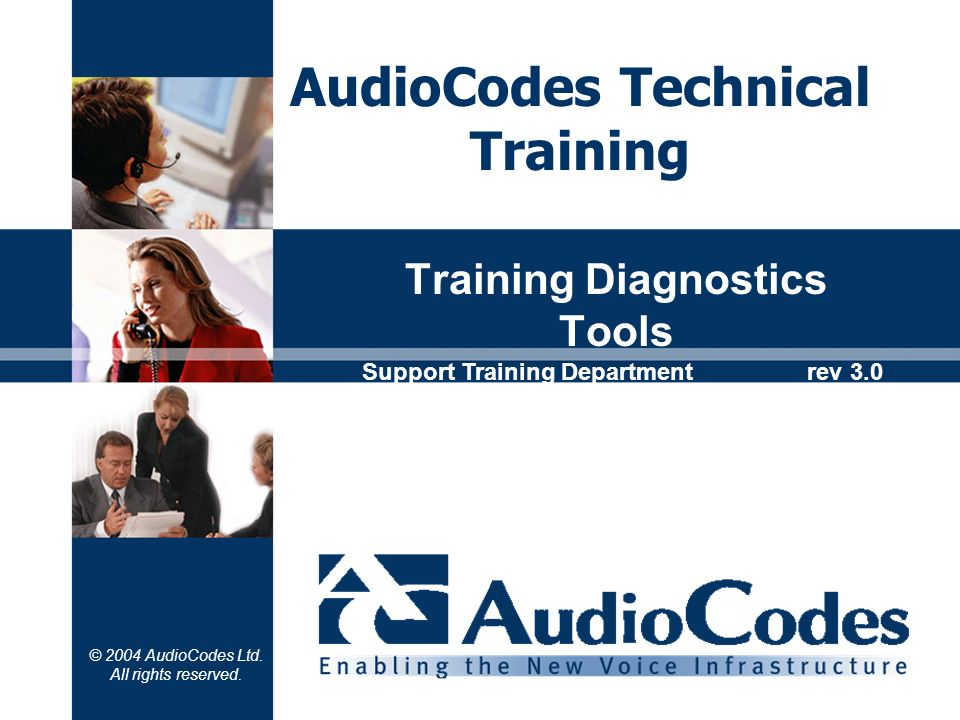 Training Diagnostics Tools
