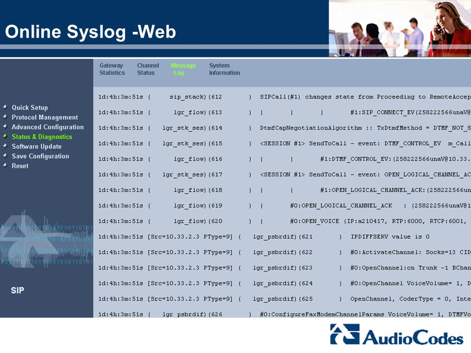 Online Syslog -Web