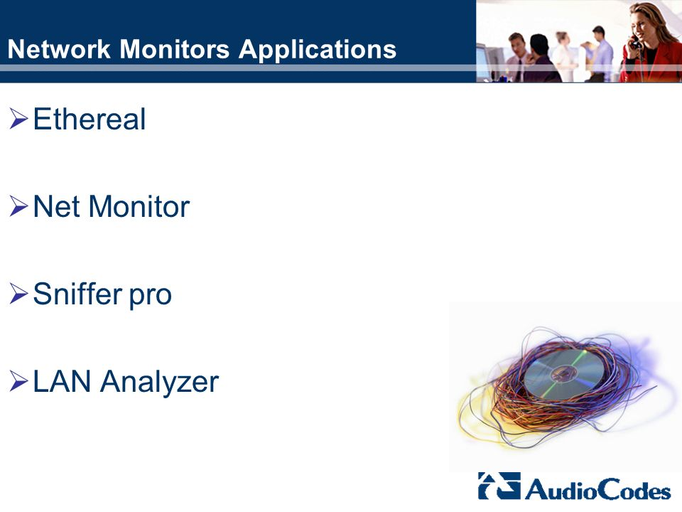 Network Monitors Applications