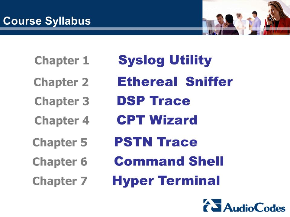 Chapter 1 Syslog Utility Chapter 2 Ethereal Sniffer