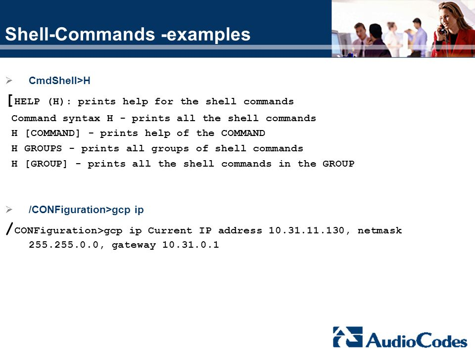 Shell-Commands -examples