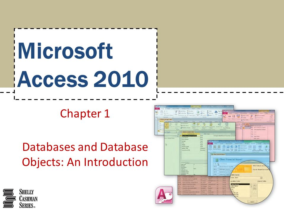 Chapter 1 Databases and Database Objects: An Introduction