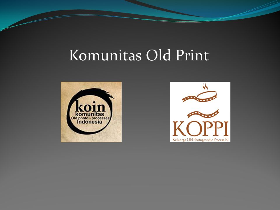Komunitas Old Print