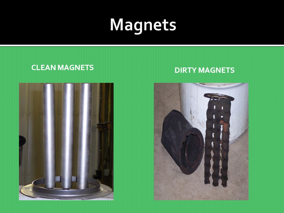 Magnets CLEAN MAGNETS DIRTY MAGNETS