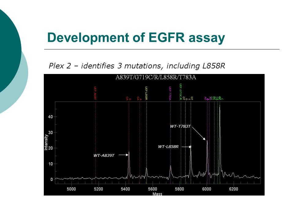 Development of EGFR assay