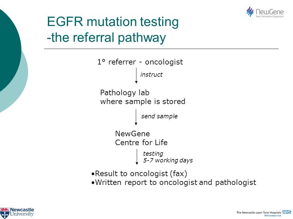 EGFR mutation testing -the referral pathway