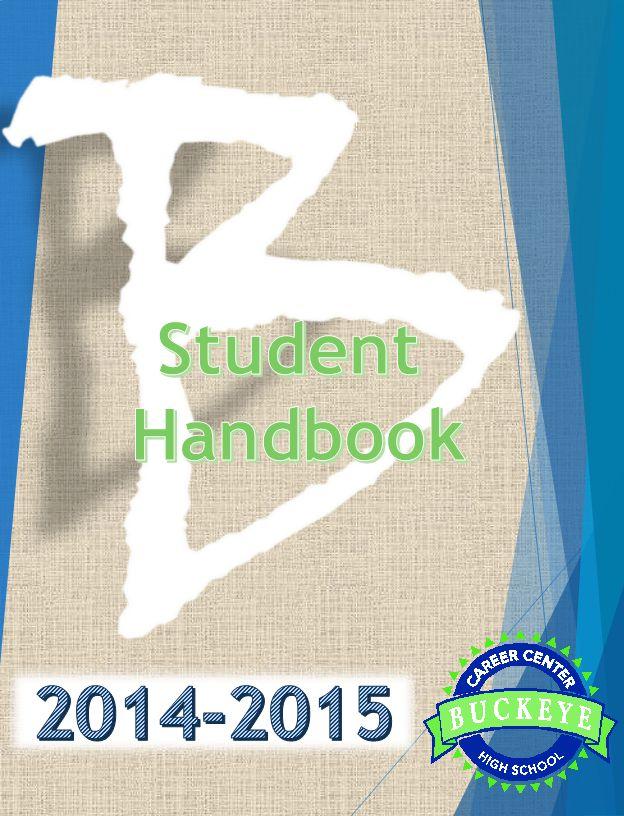 Student Handbook 2014-2015