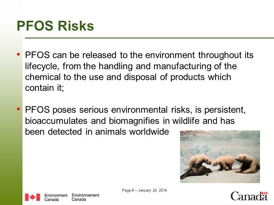 PFOS Risks
