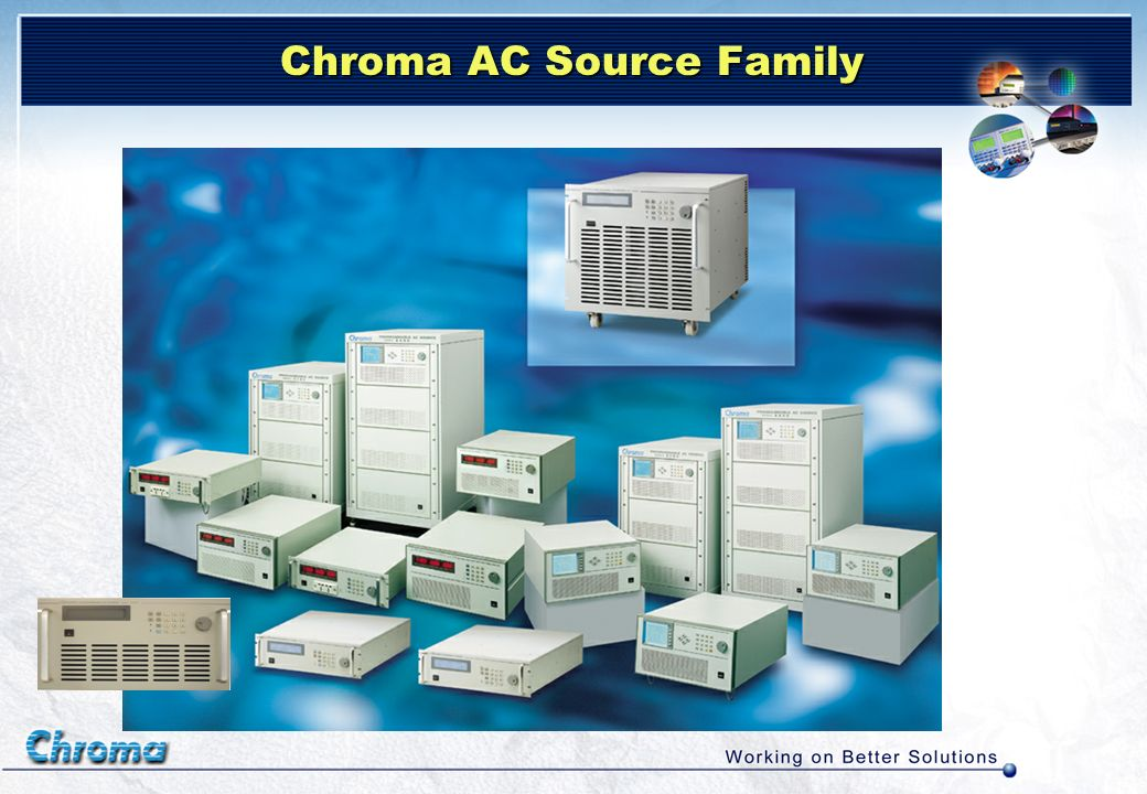 Chroma AC Source Family