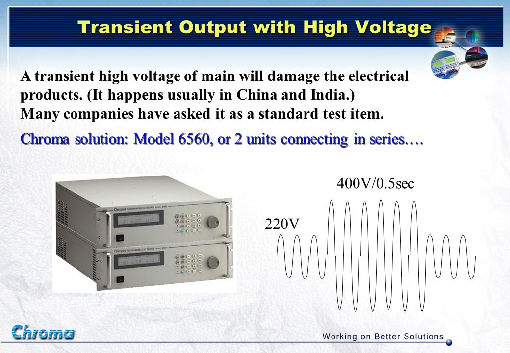 Transient Output with High Voltage