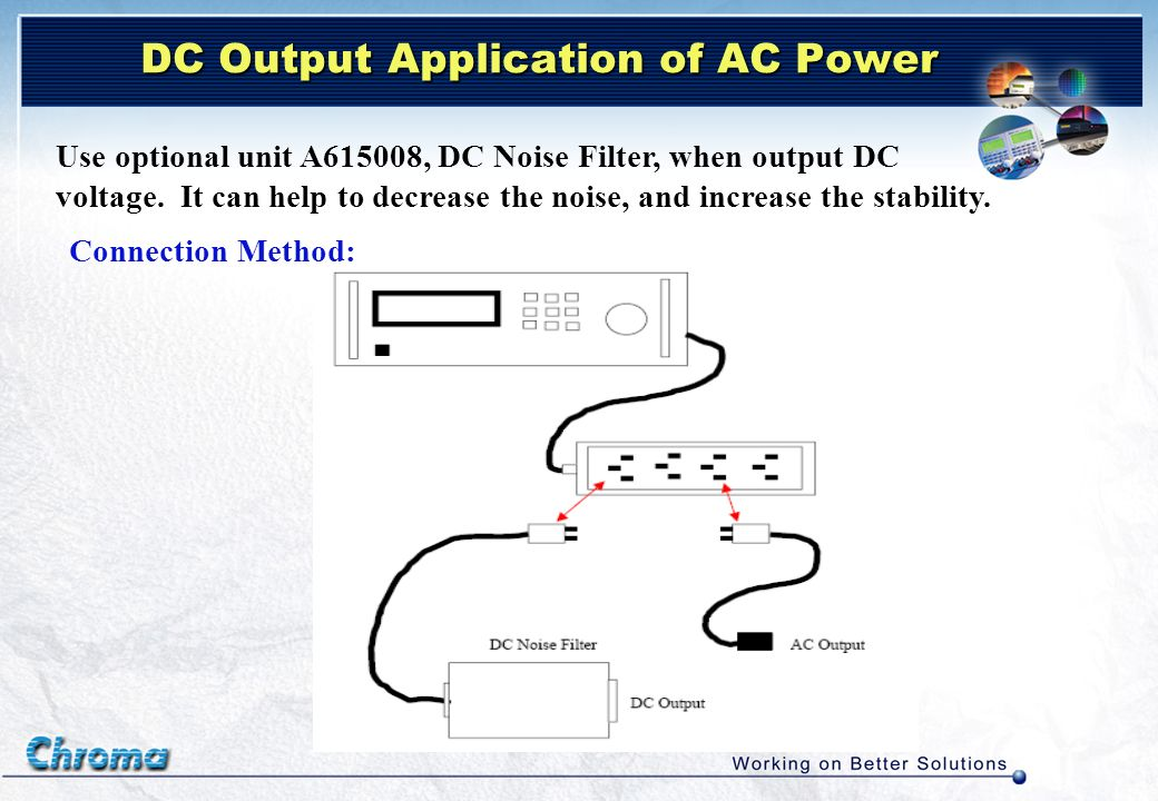 DC Output Application of AC Power