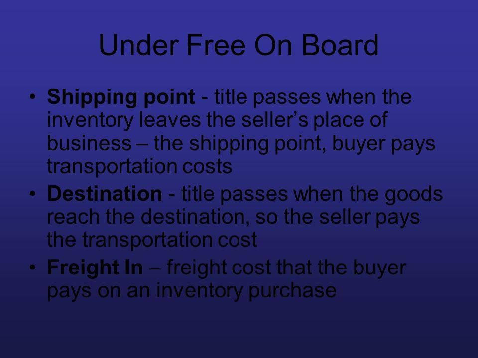 Under Free On Board