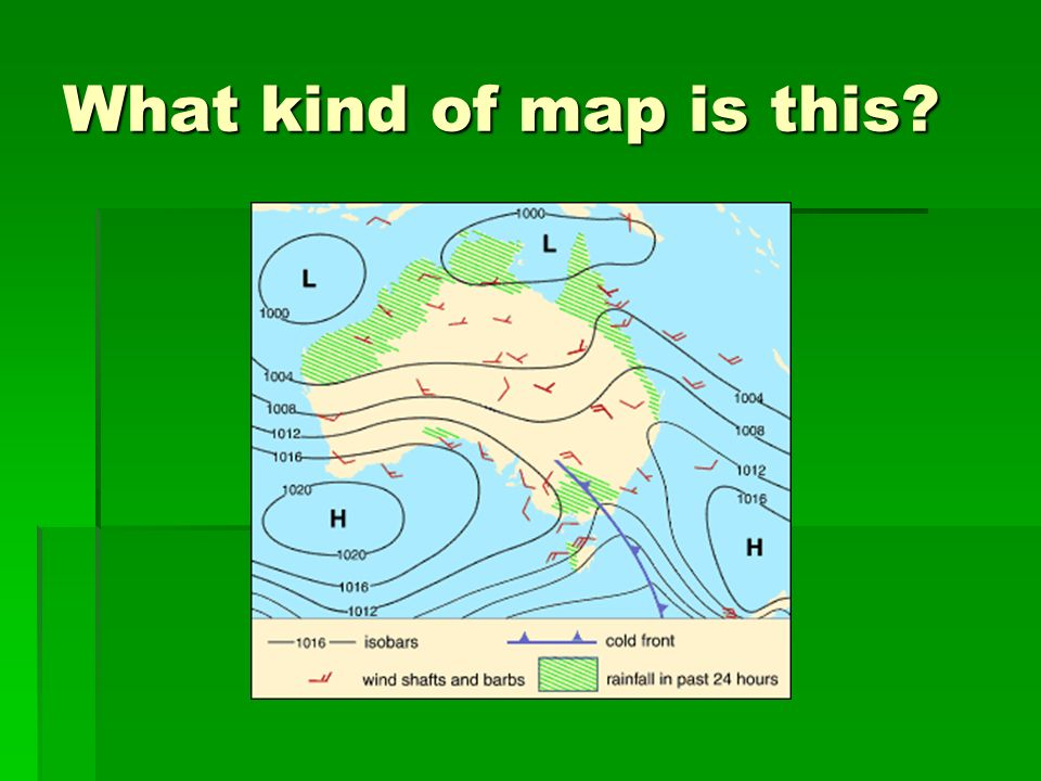 What kind of map is this