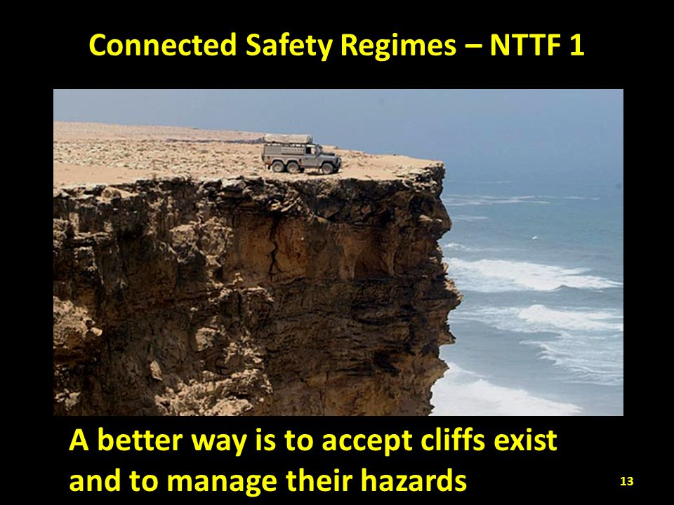 Connected Safety Regimes – NTTF 1