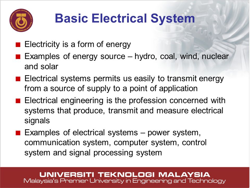Basic Electrical System