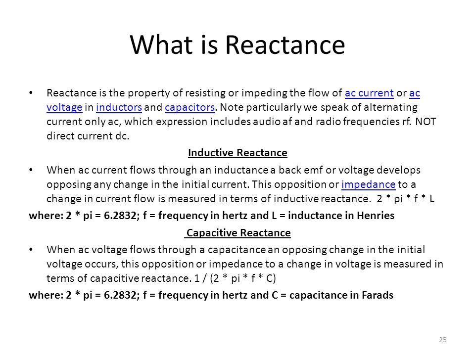 What is Reactance