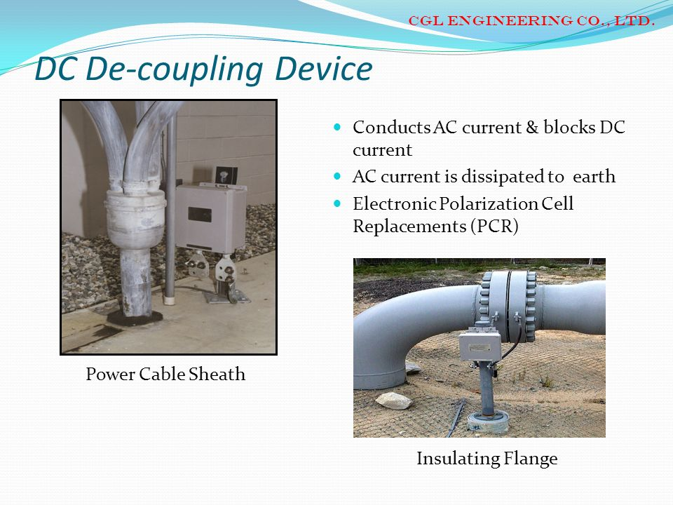 DC De-coupling Device Conducts AC current & blocks DC current