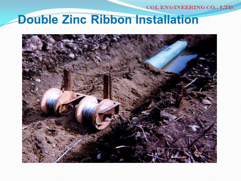 Double Zinc Ribbon Installation