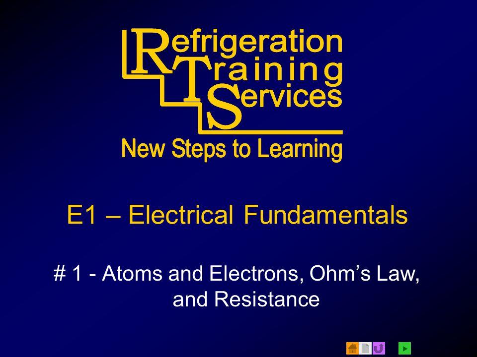 E1 – Electrical Fundamentals