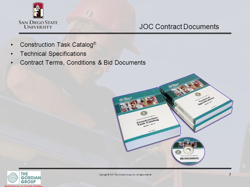 JOC Contract Documents
