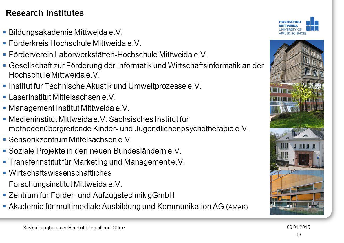 Research Institutes Bildungsakademie Mittweida e.V.