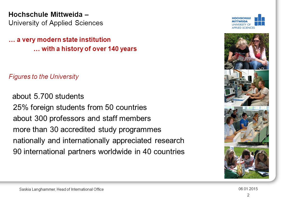 Hochschule Mittweida – University of Applied Sciences