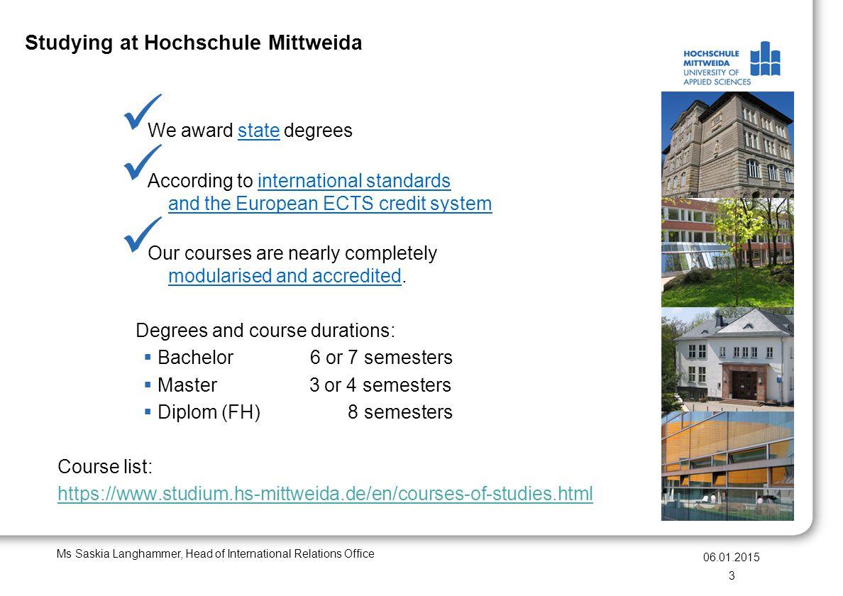 Studying at Hochschule Mittweida