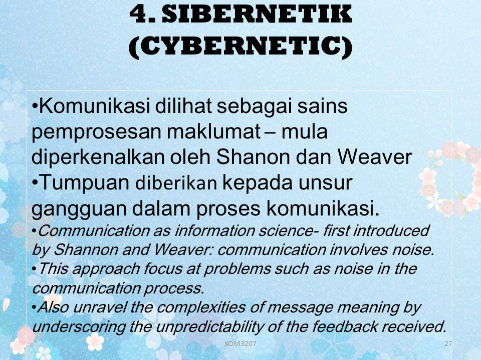4. SIBERNETIK (CYBERNETIC)