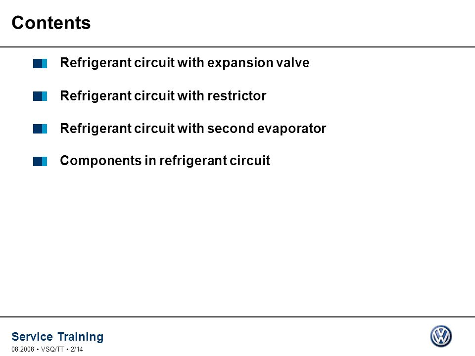 Contents Refrigerant circuit with expansion valve
