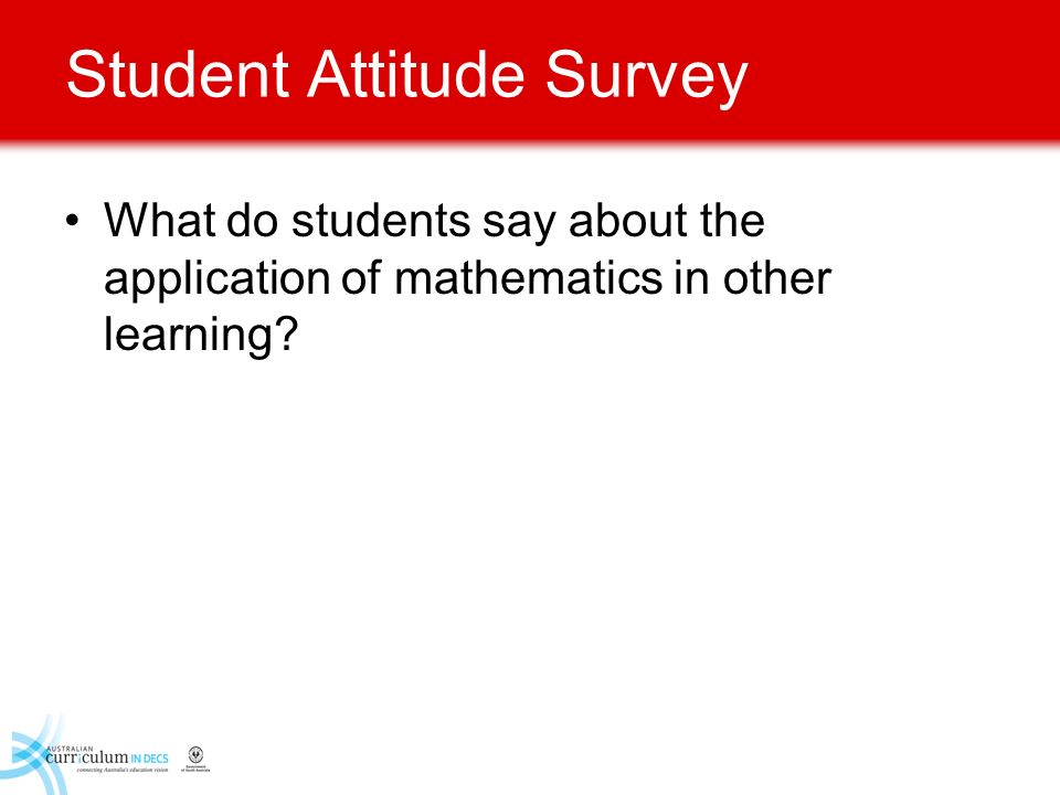 Student Attitude Survey
