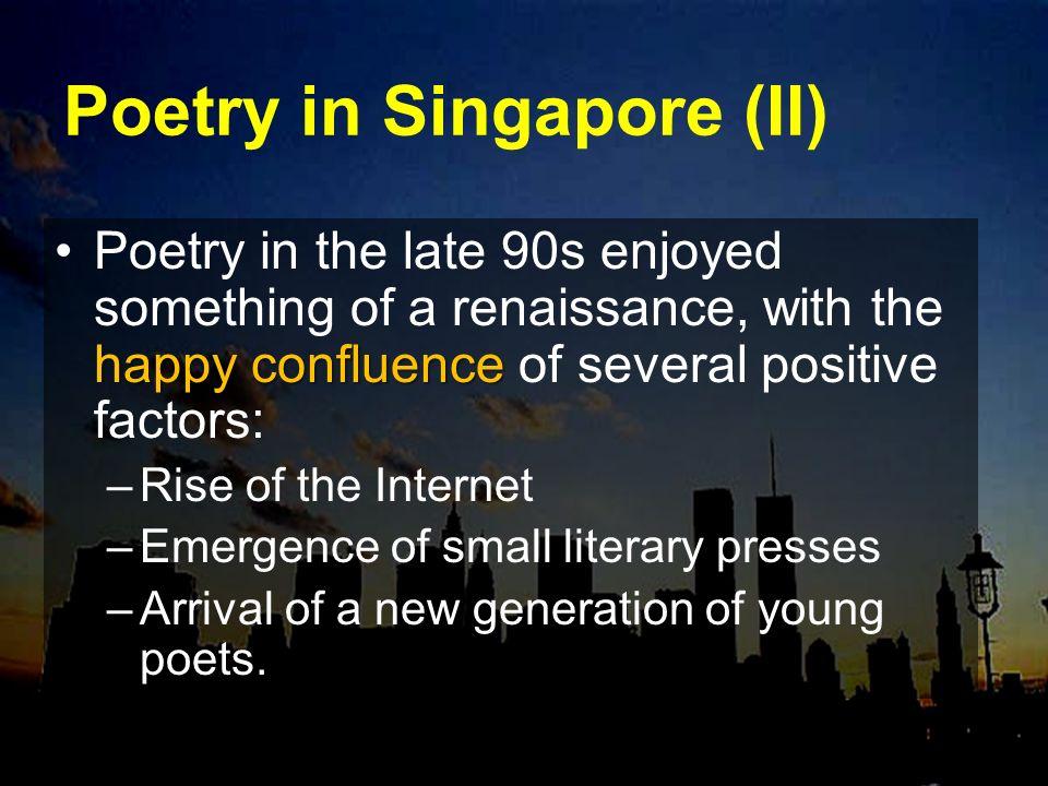 Poetry in Singapore (II)