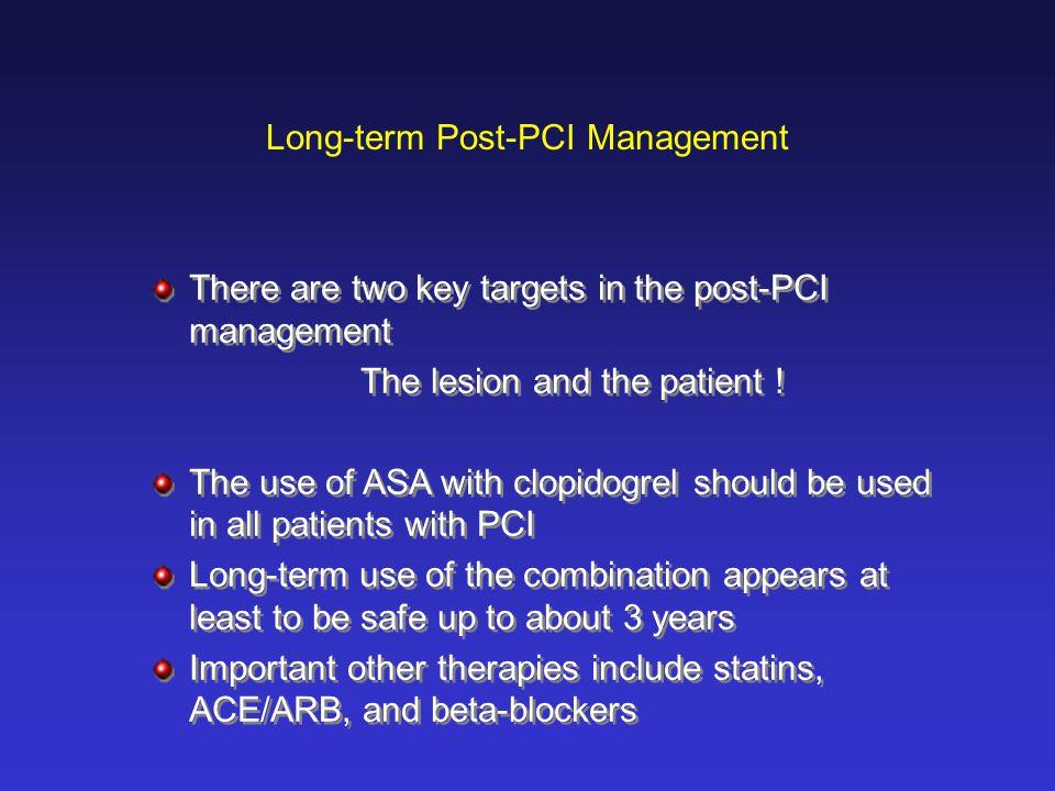 Long-term Post-PCI Management