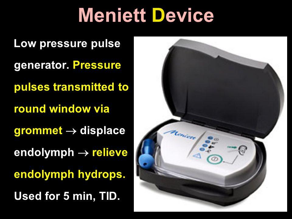 Meniett Device