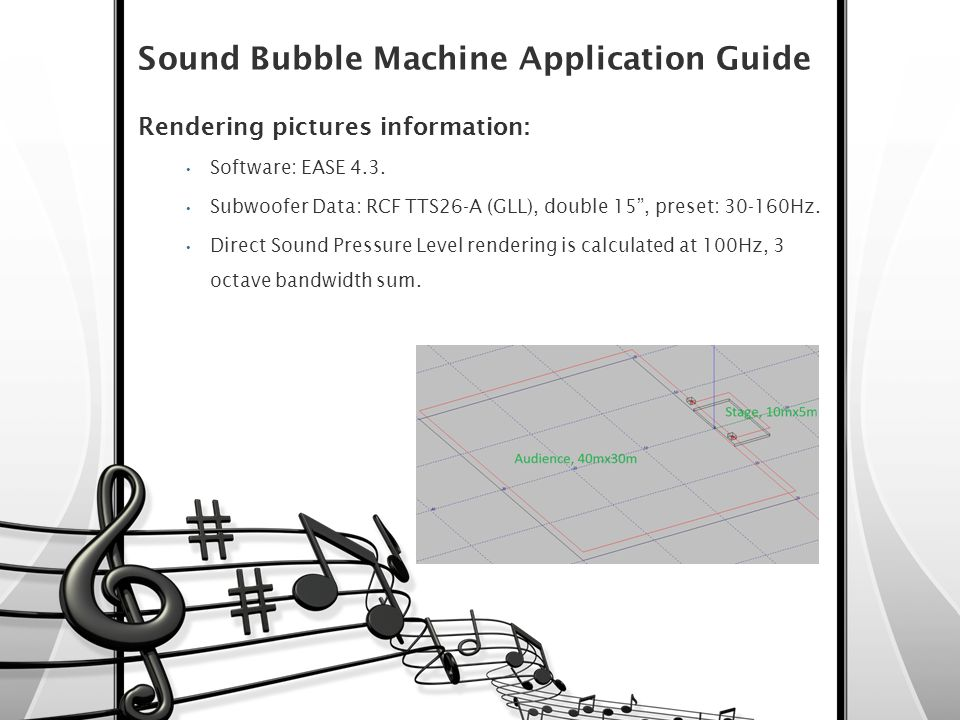 Sound Bubble Machine Application Guide
