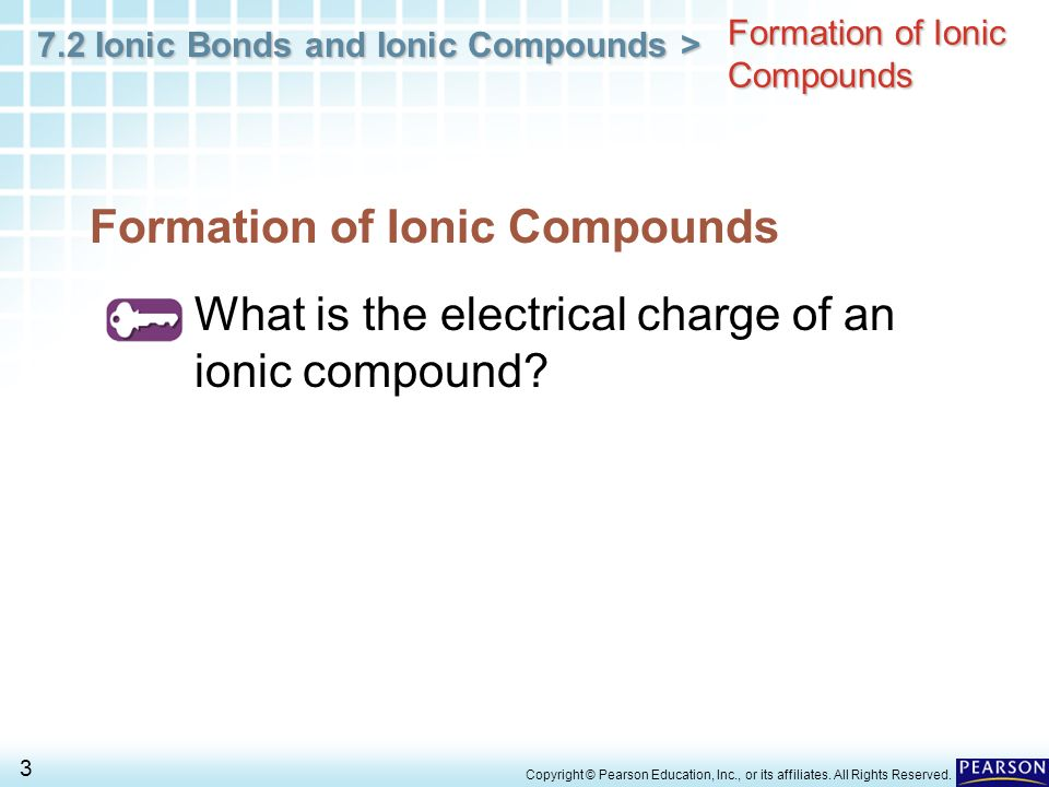 Formation of Ionic Compounds