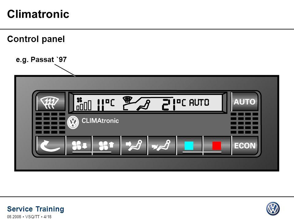 Climatronic Control panel e.g. Passat `97