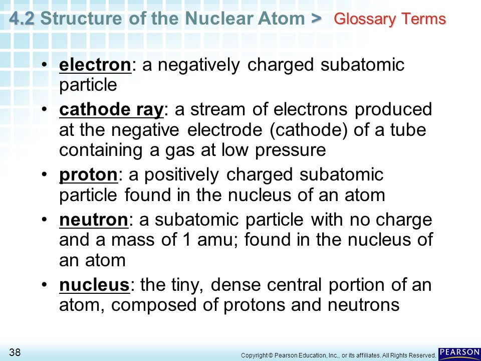 electron: a negatively charged subatomic particle