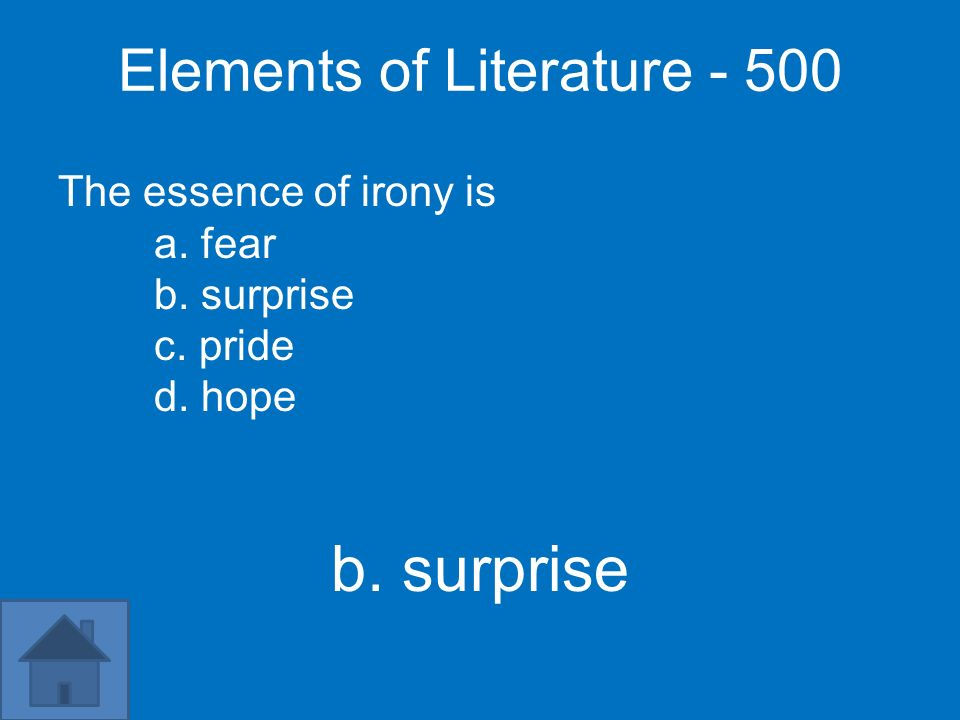 Elements of Literature - 500