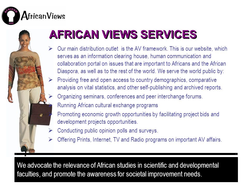 AFRICAN VIEWS SERVICES