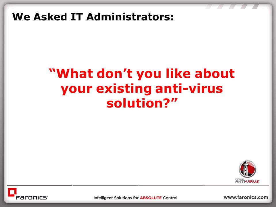 We Asked IT Administrators: