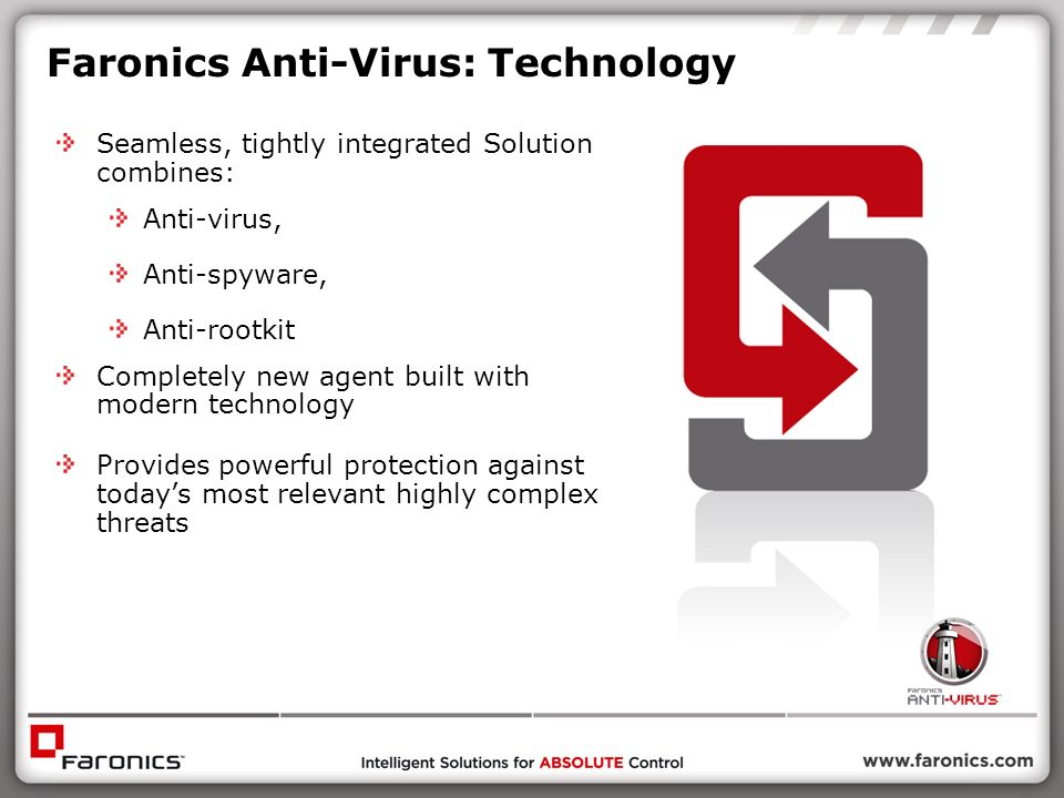 Faronics Anti-Virus: Technology