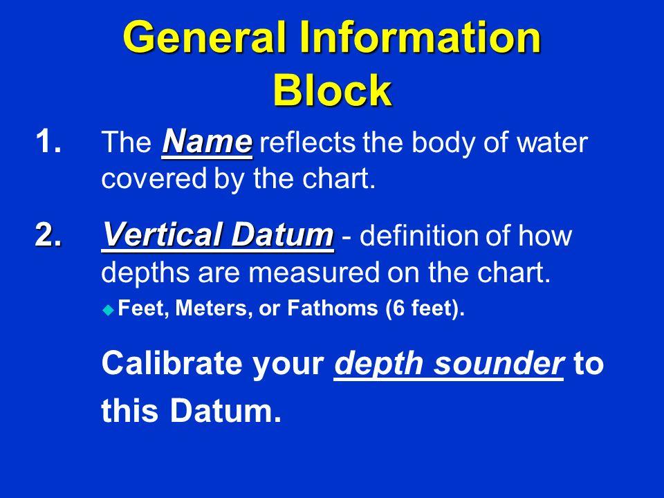 General Information Block