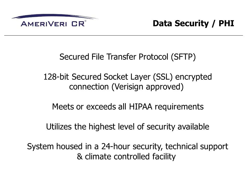 Secured File Transfer Protocol (SFTP)