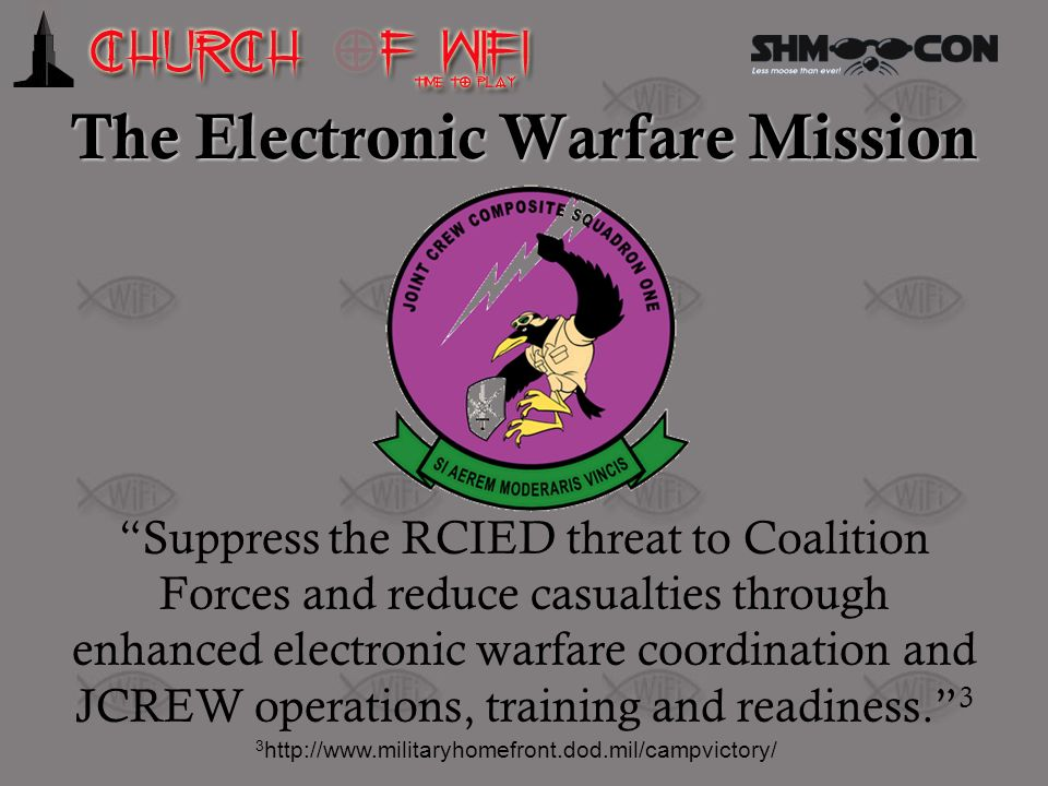 The Electronic Warfare Mission