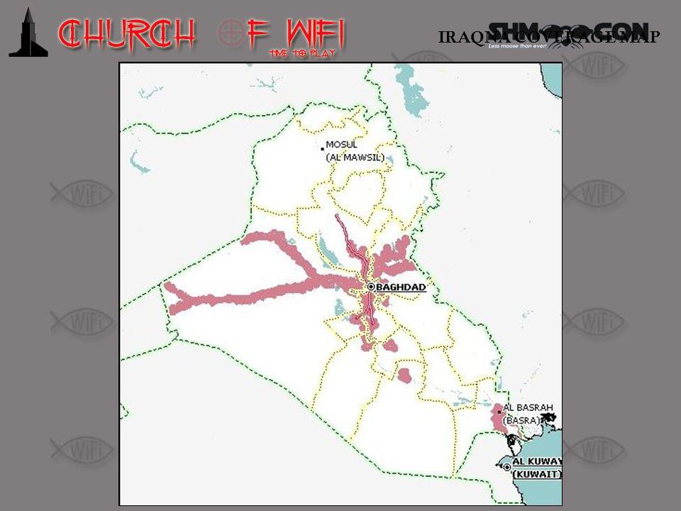 IRAQNA COVERAGE MAP IRAQNA coverage map