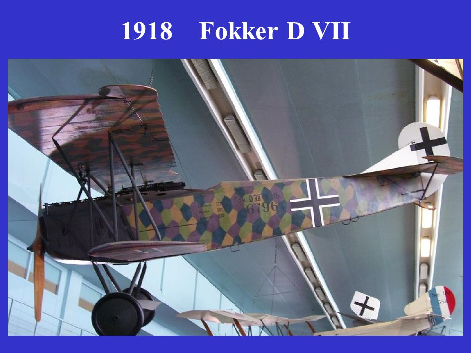 1918 Fokker D VII