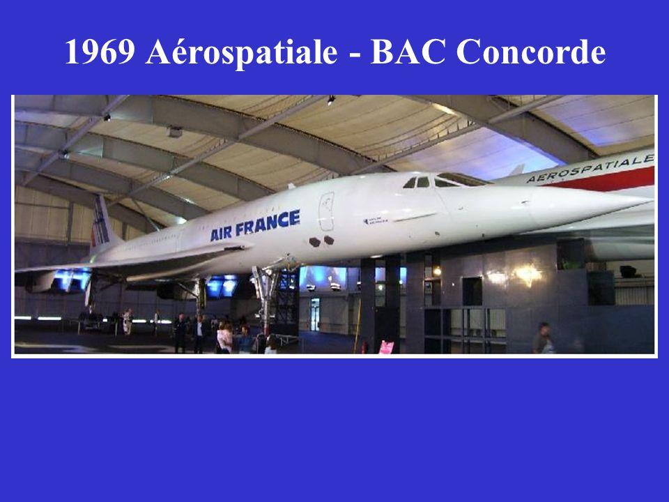 1969 Aérospatiale - BAC Concorde