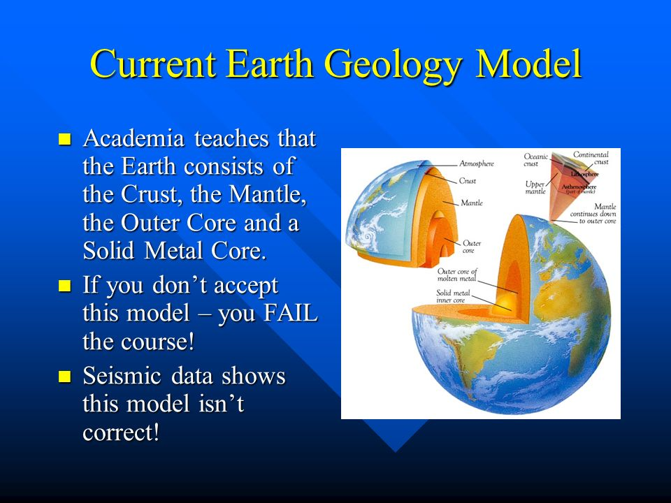 Current Earth Geology Model