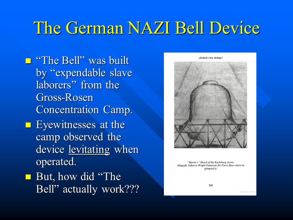 The German NAZI Bell Device