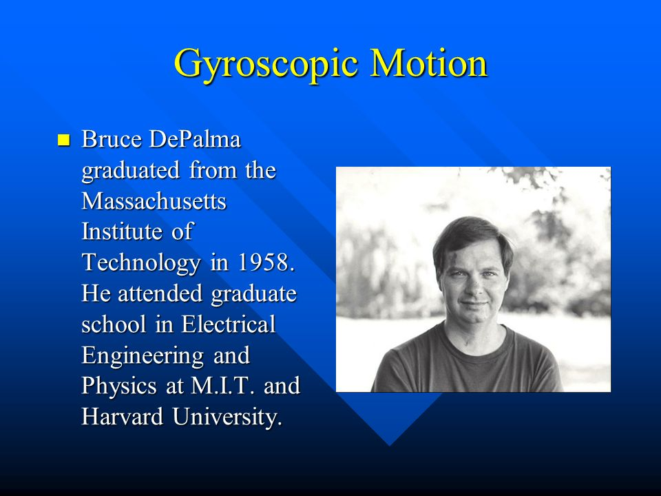 Gyroscopic Motion